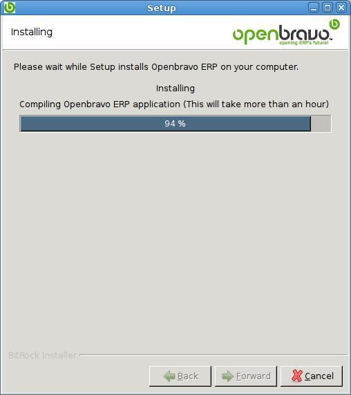 OpenBravo Installation