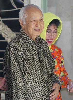 Soeharto is dead.
