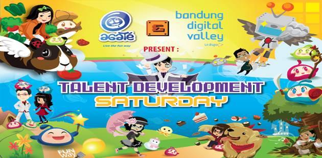 Talent Development Saturday #16 – @AgateStudio & @Telkom_BDV