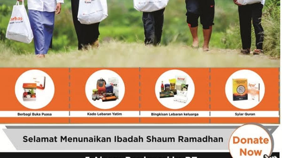 Berbagi Senyum Ramadhan dengan Donasi ke Rumah Zakat