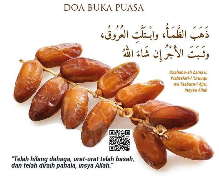Doa Untuk *Setelah* Buka Puasa Ramadhan
