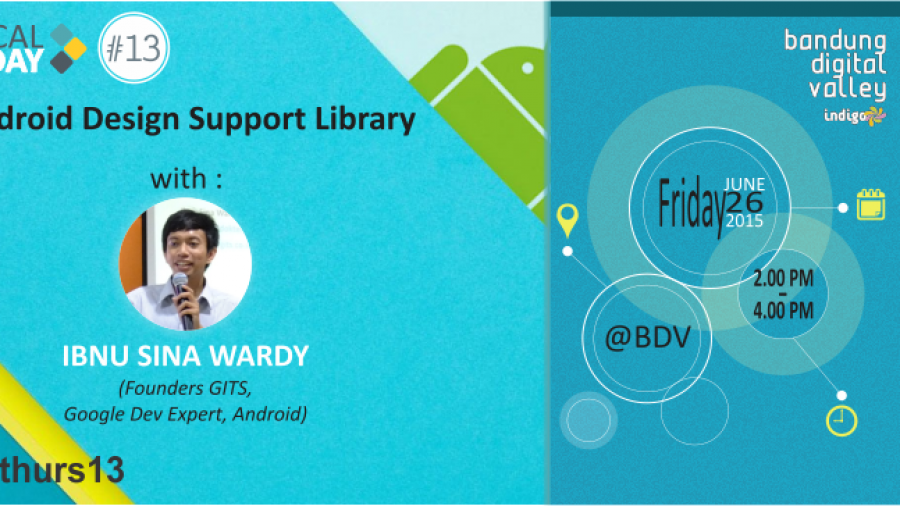 Technical Thursday on Friday #13 : Android Design Support Library