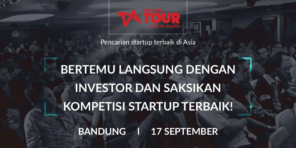 Bandung! Saatnya Kamu Eksis di Tech in Asia Tour: Road to Jakarta!
