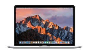 Apple MacBook Pro: laptop for design and creative arts professionals.